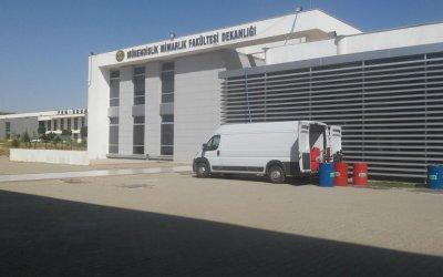 siirt üniversitesi dekanlık binası
