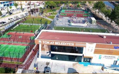 tokat belediyesi spor salonu