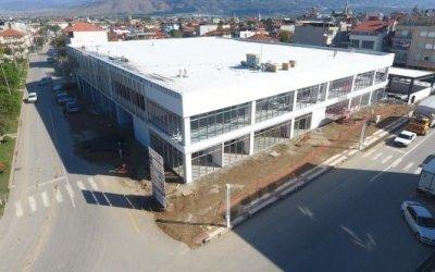 soma belediyesi şehir meydanı otoparkı